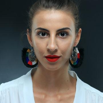 fotografie portret color model